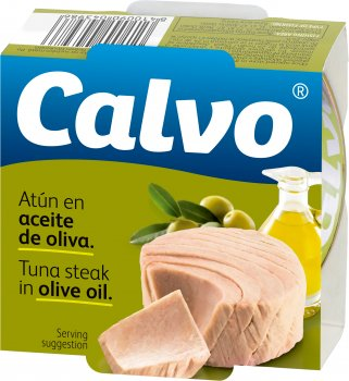 Тунец Calvo в оливковом масле 160 г (8410090043986)