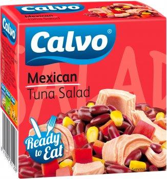 Салат з тунцем Calvo Mexicana 150 г (8410090851208)