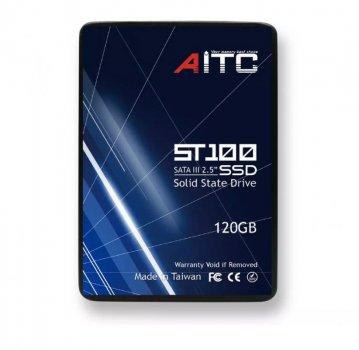 """Твердотельный накопительный (жесткий) диск 120GB 2.5"""" SATA III AITC AIST100S120 (770008629)"""