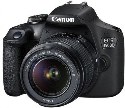 Фотоапарат Canon EOS 1500D kit (18-55mm) (Rebel T7)