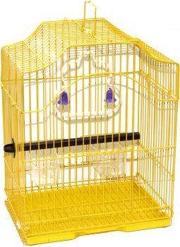 Клетка для птицы ZooMax Желтая 24 x 18.5 x 31 см (23336) (4820097809074)