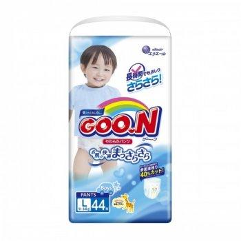 Підгузки-трусики Goo.N L 9 - 14 кг для хлопчиків 44 шт (853627)
