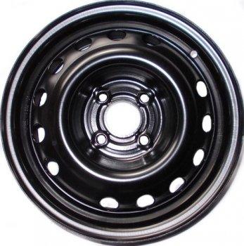 Kapitan Daewoo / Opel R14 W5.5 PCD4x100 ET49 DIA56.6 Black semi-Matt