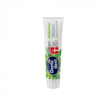 Зубная паста DontoDent Krauter травяная 125мл (00-00001018)