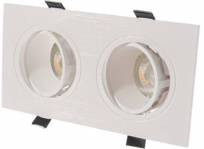 Точковий світильник Brille HDL-DT 95/2 GU5.3 WH (36-286)