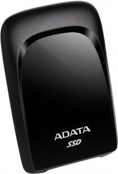 "ADATA SC680 480GB 2.5"" USB 3.2 Type-C 3D NAND TLC Black (ASC680-480GU32G2-CBK) External"