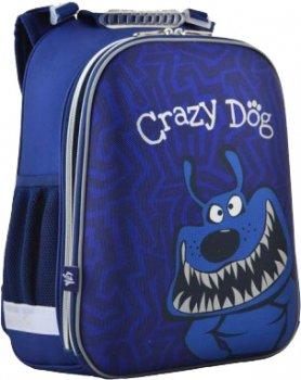 Рюкзак школьный Yes H-12-2 Crazy dog 38х29x15 (5056137105984) (554621)