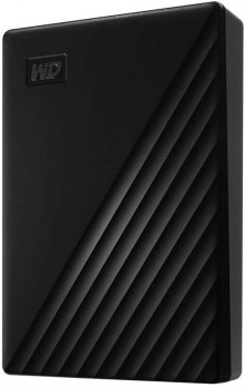 "Жесткий диск Western Digital My Passport 4TB WDBPKJ0040BBK-WESN 2.5"" USB 3.0 External Black"