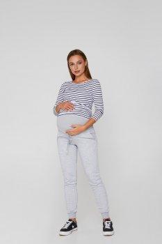 Теплі спортивні штани для вагітних Lullababe Base Меланж