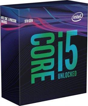 Процесор Intel Core i5 9600K 3.7 GHz (9MB, Coffee Lake, 95W, S1151) Box (BX80684I59600K) no cooler