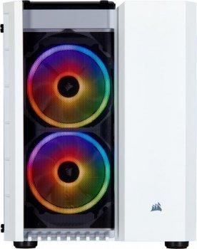 Корпус Corsair Carbide 280X RGB Tempered Glass White (CC-9011137-WW) без БЖ
