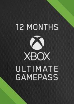 Підписка Xbox Game Pass Ultimate на 12 місяців | Всі Країни