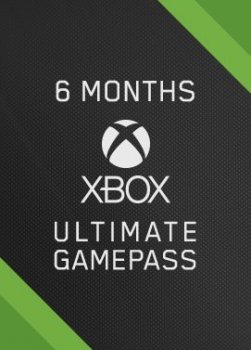 Підписка Xbox Game Pass Ultimate на 6 місяців | Всі Країни