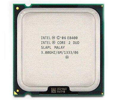 Процессор Intel Core2 Duo E8400 LGA775 3.0GHz/ 6 MB/ 1333 Mhz s775 Tray Б/У
