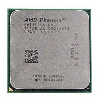 Процесор AMD Phenom X4 9950 Black Edition 4 Ядра, 2.6 GHz, sAM2+ / AM2, Tray ( HD995ZFAJ4BGH ) Б/У