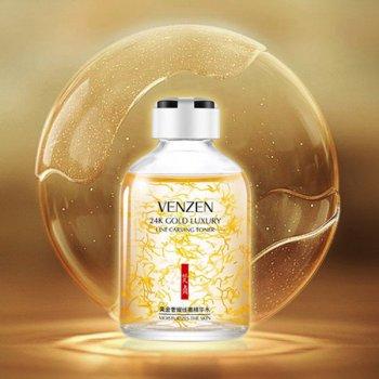 Омолаживающая сыворотка venzen 24 k gold luxury. 50 ml.(0144)