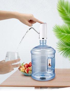 Помпа для води електрична з акумулятором ePump біла (EP-16699)