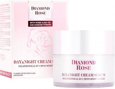 Крем-сыворотка для лица BioFresh Diamond Rose для сухой кожи День/Ночь 50 мл (3800156003996)