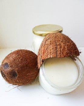 Кокосове масло (Coconut oil) харчова рафінована, Малайзія, 500г., для кулінарії або косметології