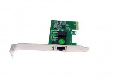 Сетевой адаптер Ewell PCI-E to LAN, 1000Mbps, Low Profile (EW287)