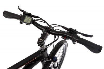 """Електровелосипед E-motion MTB 27,5"""" GT 36V 12Ah 500W / рама 19"""" чорно-червоний"""