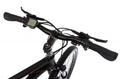 """Електровелосипед E-motion MTB 29"""" GT 48V 15Ah 500W / рама 19"""" чорно-червоний"""