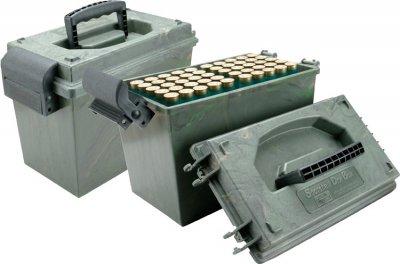 Коробка MTM Shotshell Case на 100 патронов кал. 12/76. Цвет – камуфляж (1773.03.70)
