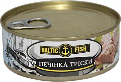 Печень трески Baltic Fish натуральная 240 г (4779026840674)