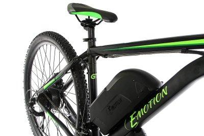 "Електровелосипед E-motion MTB 27,5"" GT 36V 12Ah 500W / рама 19"" чорно-зелений (E275193612500-BG)"