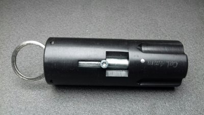 """Револьвер под патрон Флобера - брелок Mig """"Quatro"""" (четырехзарядный, черный)"""
