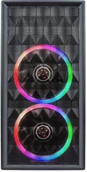 Корпус 1STPLAYER D8-M-R1 Color LED Black