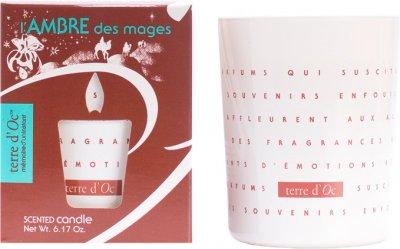 Парфумована свічка Terre d'Oc Магічний бурштин 175 г (3700324425974)