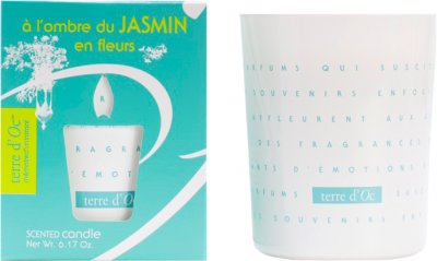 Парфумована свічка Terre d'Oc Дихання квітів жасмину 175 г (3700324424359)