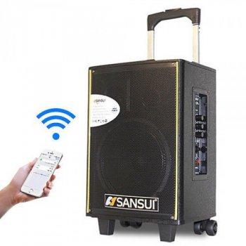 Колонка Sansui SA1-10 на аккомуляторе с 2 микрофонами