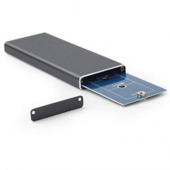 Карман зовнішній GEMBIRD M. 2 (NGFF), USB3.0, чорний (EE2280-U3C-01)