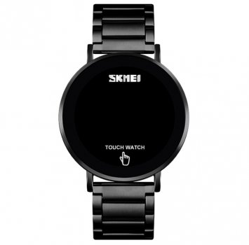 Дитячі годинники Skmei Light Black Steel+ подарункова коробочка