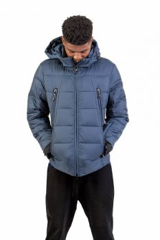 Зимняя куртка Frompoles FP-1827 голубой цвет (G633)