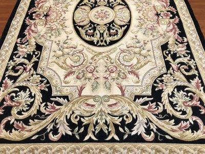 килим французького стилю з вовни, ручна стрижка з Китаю 200x300 (25458 R-5 129/320 3000x2000)