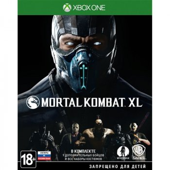 Mortal Kombat XL (Xbox One, русские субтитры)
