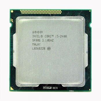 Процесор S1155 Intel Core i5-2400 4x3.4 GHz -Б/У