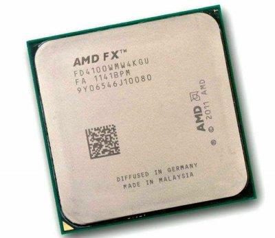 AMD FX-4100 X4 3.6-3.8 GHz (FD4100WMW4KGU) AM3+ - Б/У