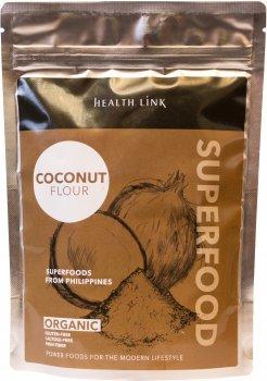 Мука кокосовая Health Link органическая 250 г (8594046601373)