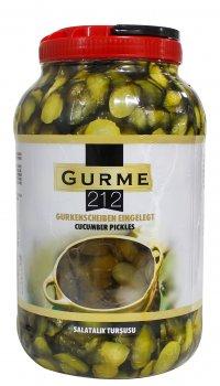 Маринованные огурцы Gurme 212 для бургера во французском стиле 3.5 кг (8680697445043)
