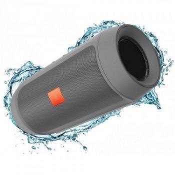 Портативна bluetooth колонка MP3 плеєр E2 Silver