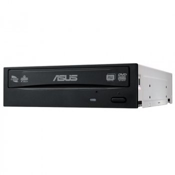Привод DVD+/-RW ASUS DRW-24D5MT/BLK/B/AS (90DD01Y0-B10010) SATA Black