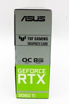 Відеокарта Asus TUF Gaming GeForce RTX 3060 Ti OC Edition 8GB GDDR6 (TUF-RTX3060TI-O8G-GAMING)