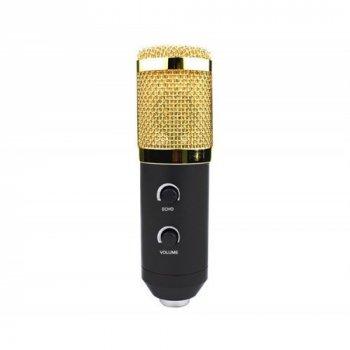 Студійний мікрофон Music D. J. M-800U зі стійкою і вітрозахистом