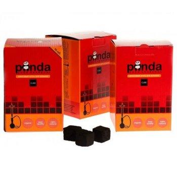 Уголь Panda красный древесный для кальяна 96 угольков