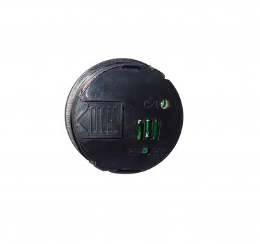 Термометр - гигрометр DIGITAL 27001 круглый встраиваемый, ЧЕРНЫЙ (n282)