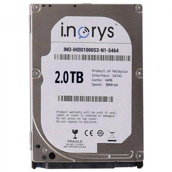 Жорсткий диск i.norys 2.0 TB 5900 rpm 64 MB (TP53245B002000A) накопичувач HDD внутрішній вінчестер для ПК